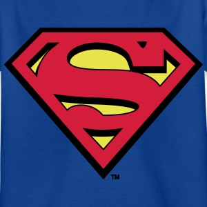 Tee-shirt Enfant Superman S-Shield - T-shirt Enfant
