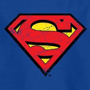 Superman S-Shield T-Shirt für Kinder  - Kinder T-Shirt