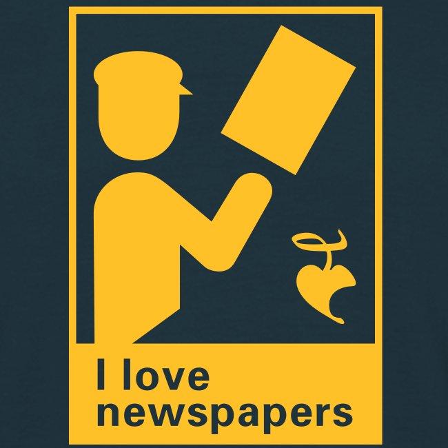 I love newspapers