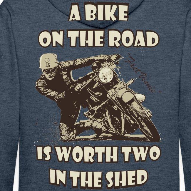 A bike on the road