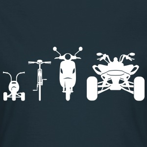 Motorcycle ATV Front Evolution  T-Shirts - Women's T-Shirt