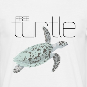 free turtle - T-shirt Homme
