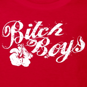 Bitch Boys Logo White Shirts - Kids' Organic T-shirt
