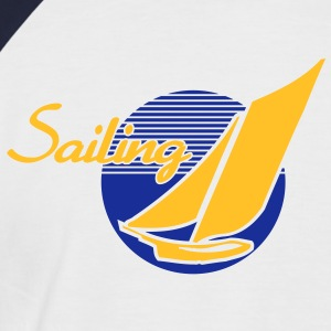 Sailing T-Shirts - Men's Baseball T-Shirt