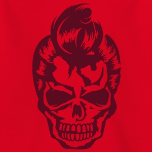 A skull with a rockabilly haircut Shirts - Teenage T-shirt