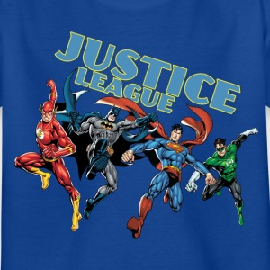 Justice League Charkater Mix T-Shirt für Kinder  - Kinder T-Shirt