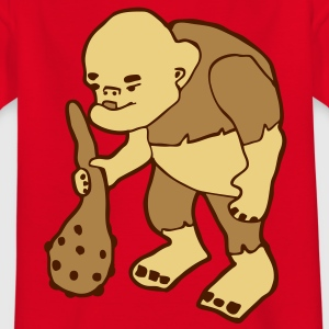 Monster Oger mit Keule T-Shirts - Teenager T-Shirt