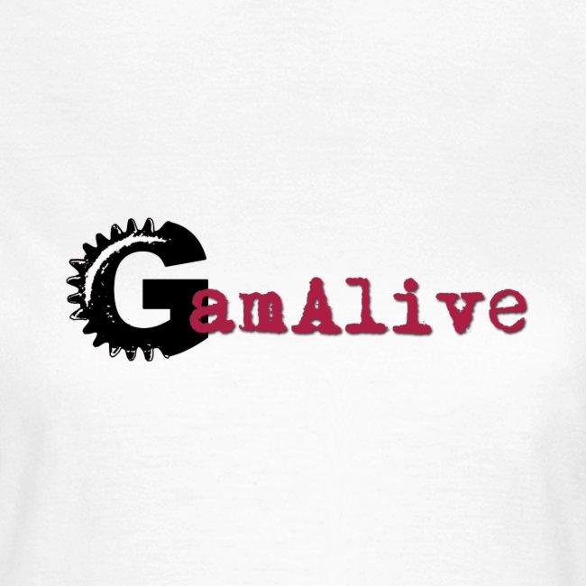 T-Shirt Femme Logo GamAlive