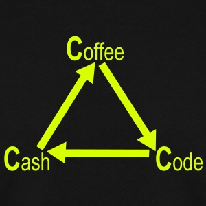 Coffee - Code - Cash Pullover & Hoodies - Männer Pullover