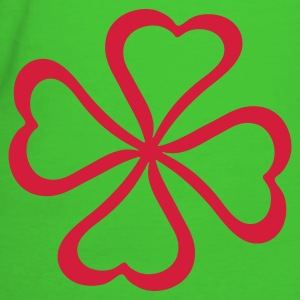 Light green heart_4_2 Women - T-shirt ecologica da donna