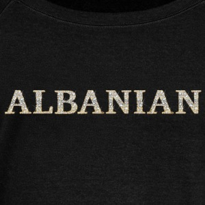 ALBANIAN (diamonds effect) #02 Hoodies & Sweatshirts - Women's Boat Neck Long Sleeve Top