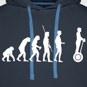Evolution Segway Hoodies & Sweatshirts - Men's Premium Hoodie