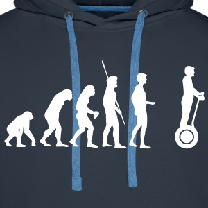 Evolution Segway Sweat-shirts - Sweat-shirt à capuche Premium pour hommes