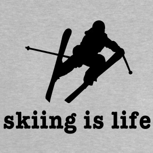 skiing is life ii Shirts - Baby T-shirt