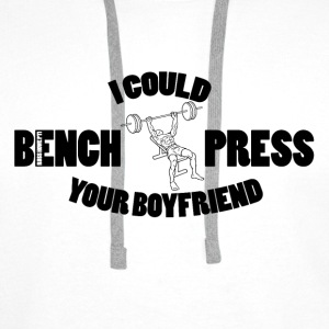 Bench Press Hoodies - Men's Premium Hoodie