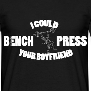 Bench Press (2) T-Shirts - Men's T-Shirt