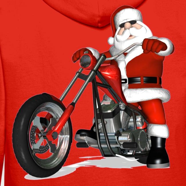 Santa Bike sweatshirt