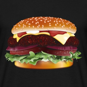 Hamburger / Cheeseburger, T-Shirt - Men's T-Shirt