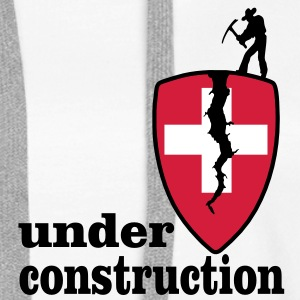 under construction Pullover & Hoodies - Frauen Premium Hoodie