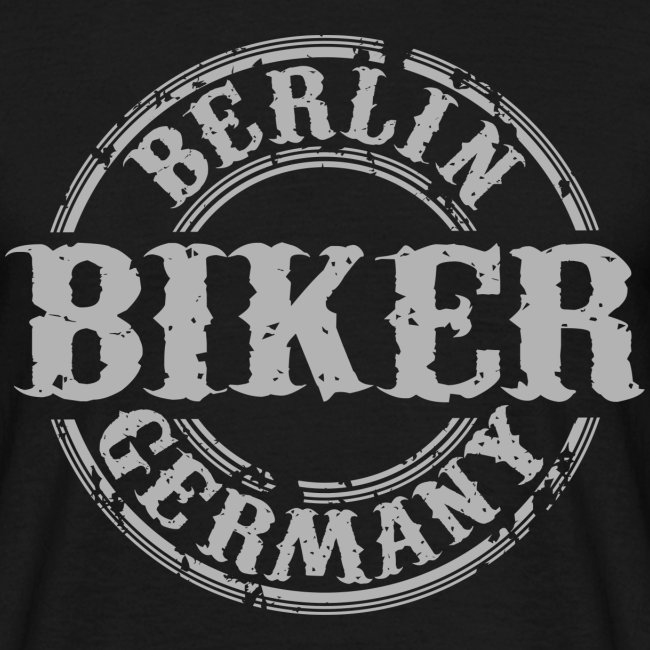 Biker Berlin Germany
