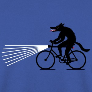 Wolf on bike Pullover & Hoodies - Männer Pullover