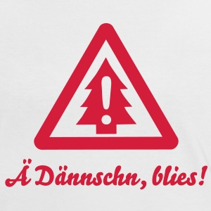 Ä Dännschn, blies! - Attention - Tanne T-Shirts - Frauen Kontrast-T-Shirt