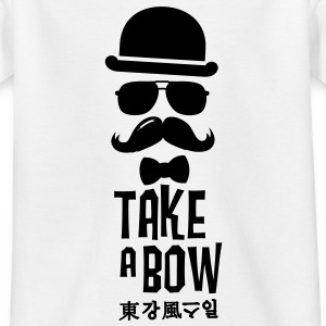Like a swag bow tie moustache style boss t-shirts Shirts - Teenage T-shirt