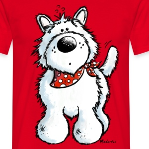 West Highland White Terrier - Westie – chien Tee shirts - T-shirt Homme