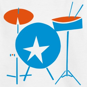 simple drumset... - Kinder T-Shirt
