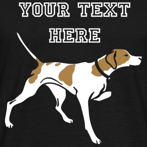 pointer_on_black T-shirts - T-shirt herr