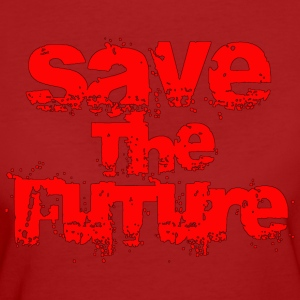Save The Future - Red T-Shirts - Frauen Bio-T-Shirt
