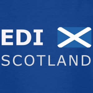 EDI SCOTLAND white-lettered 400 dpi Shirts - Teenager T-shirt