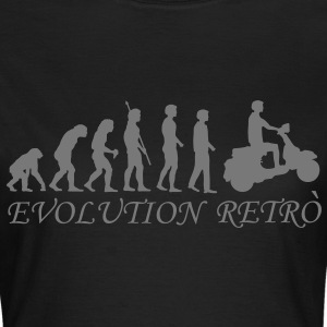 evolution_biker_retrò_g1 T-Shirts - Frauen T-Shirt