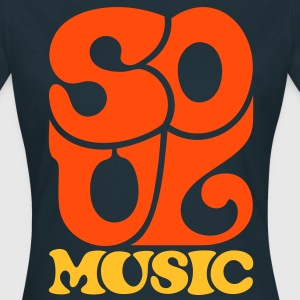 SoulMusic Soulmusik Blues Gospel 70s T-Shirts - Frauen T-Shirt