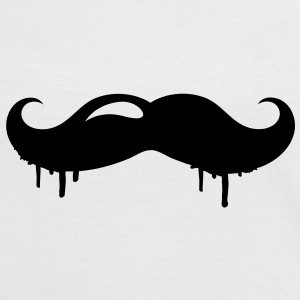 A mustache graffiti T-Shirts - Women's Ringer T-Shirt