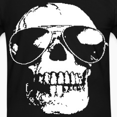 Sunglased Skull