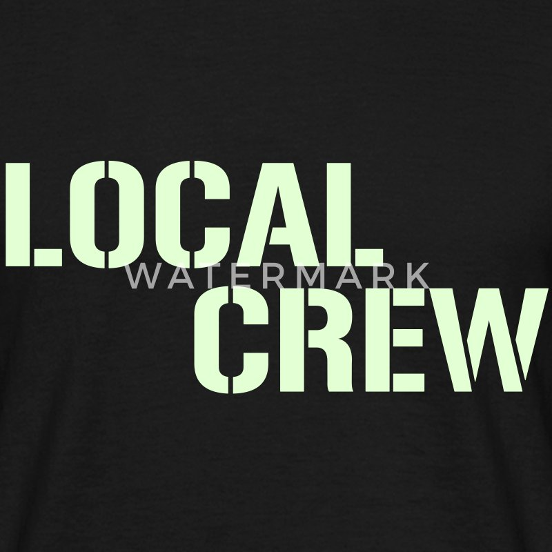 Local Crew T-Shirts - Männer T-Shirt