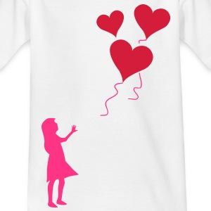 Valentine's day lost balloons Shirts - Kids' T-Shirt