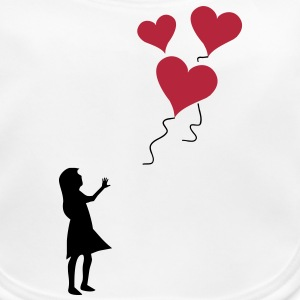 Valentine's day lost balloons Accessories - Baby Organic Bib