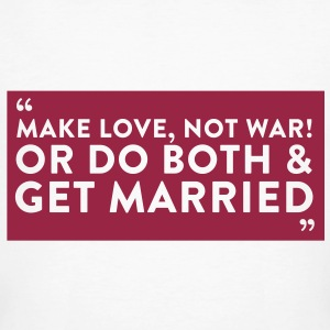 Quote Get Married (1c)++2012 Tee shirts - T-shirt bio Homme