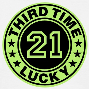 Trisomy 21 | third time lucky T-Shirts - Camiseta hombre
