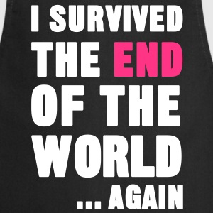 I Survived the End of the World  Aprons - Cooking Apron