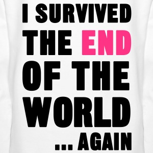 I Survived the End of the World Hoodies & Sweatshirts - Women's Premium Hoodie