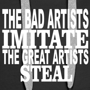 great artists steal Pullover & Hoodies - Frauen Premium Hoodie