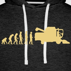 evolution_thresher_g1 Sweat-shirts - Sweat-shirt à capuche Premium pour hommes