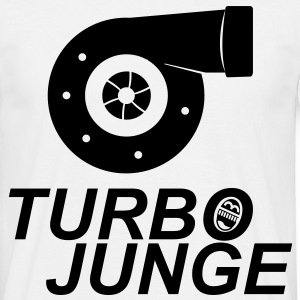 Turbojunge! T-Shirts - Männer T-Shirt
