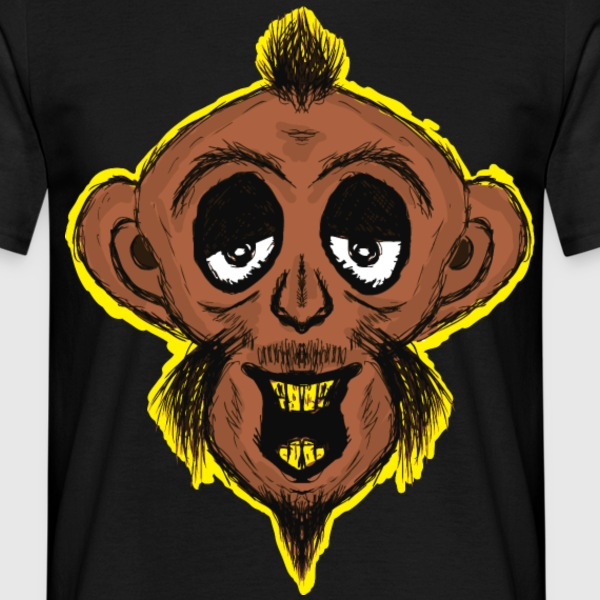 Drunken Monkey T-Shirts - Men's T-Shirt