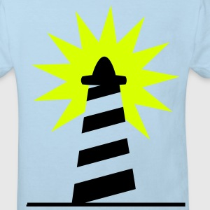 Phare Lighthouse lumiére Côte 1c Tee shirts - T-shirt Bio Enfant
