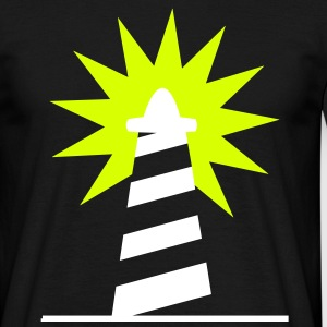 Phare Lighthouse lumiére Côte 1c Tee shirts - T-shirt Homme