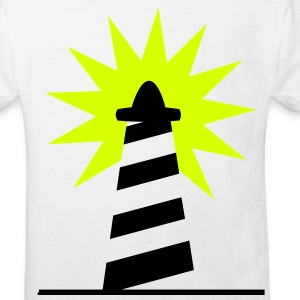 Lighthouse bright sunlight 2c Shirts - Kids' Organic T-shirt